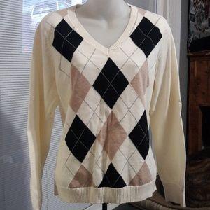 Women's sz XL IZOD thin sweater